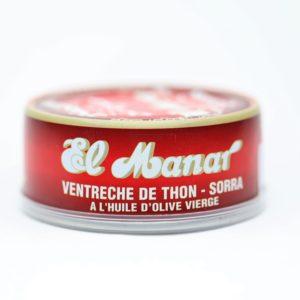Boite de conserve de thon AL MANAR